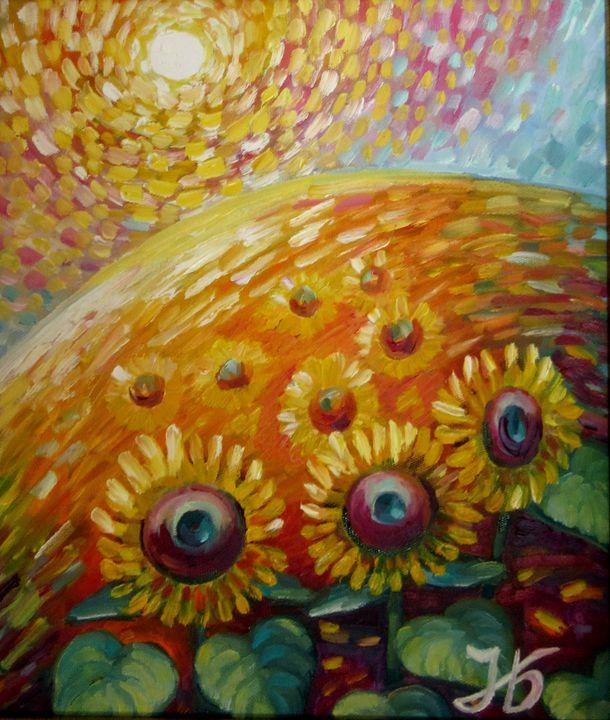 Sunflower Field - Nadia Bykova