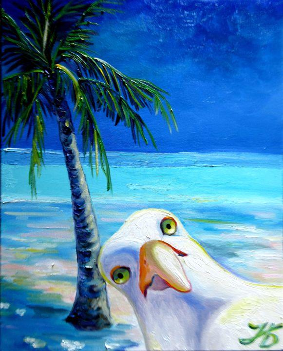 The Beach Mob Seagull - Nadia Bykova