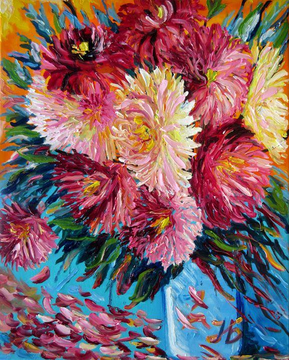 September Flowers Bouquet - Nadia Bykova