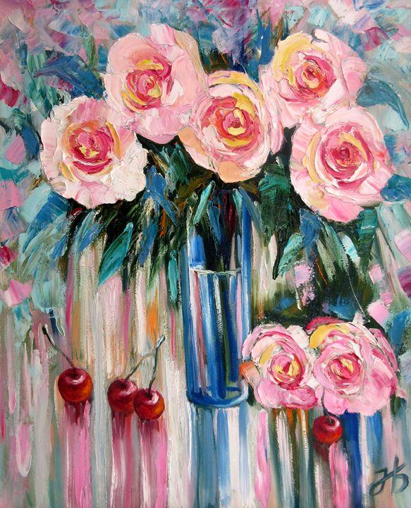 Roses and Rain - Nadia Bykova