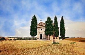 Old Tuscan Church - Cee Kay Creations