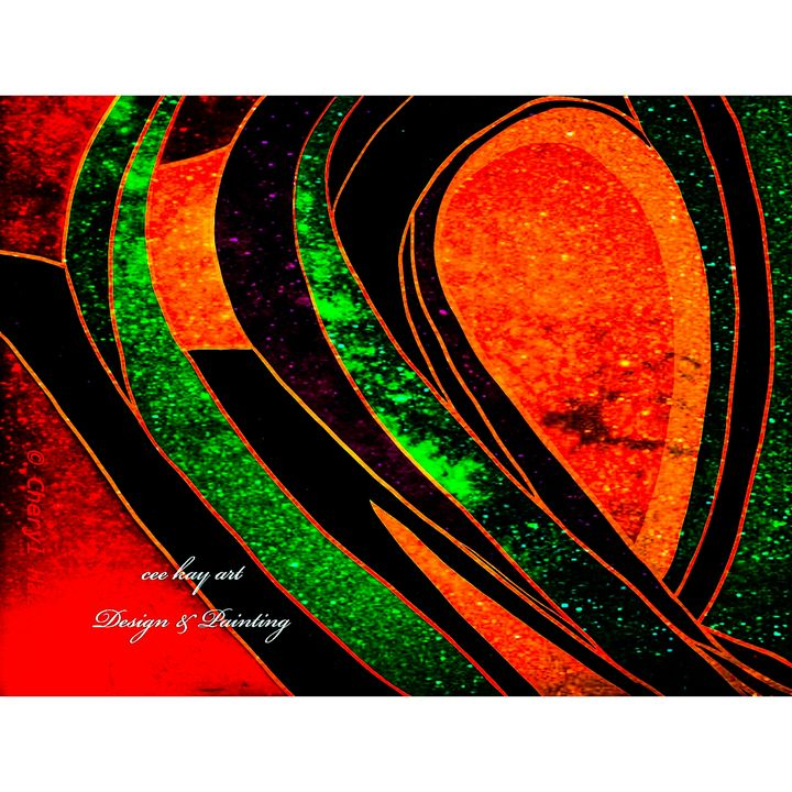 Abstract: Looking Glass: - Cee Kay Creations