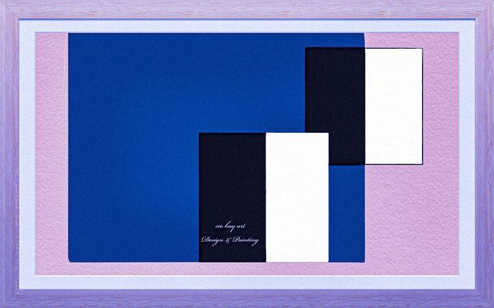 Abstract: Geometric Series 1/4 - Cee Kay Creations
