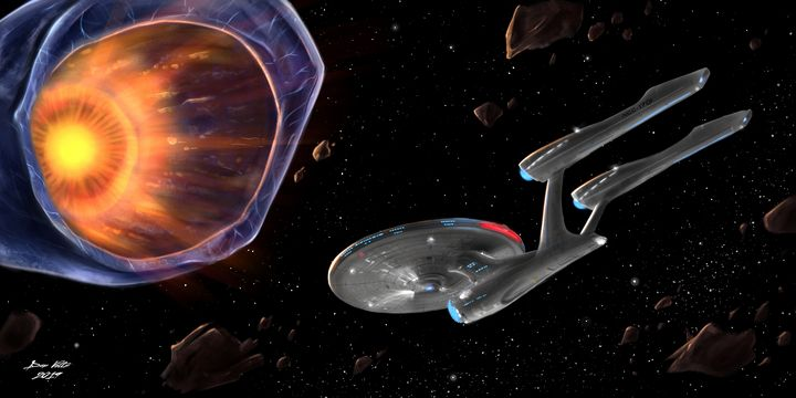 Star Trek: Doomsday Machine - Dan Voltz Art Store