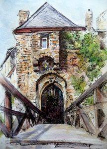 Castle Entrance - Circe Lucas