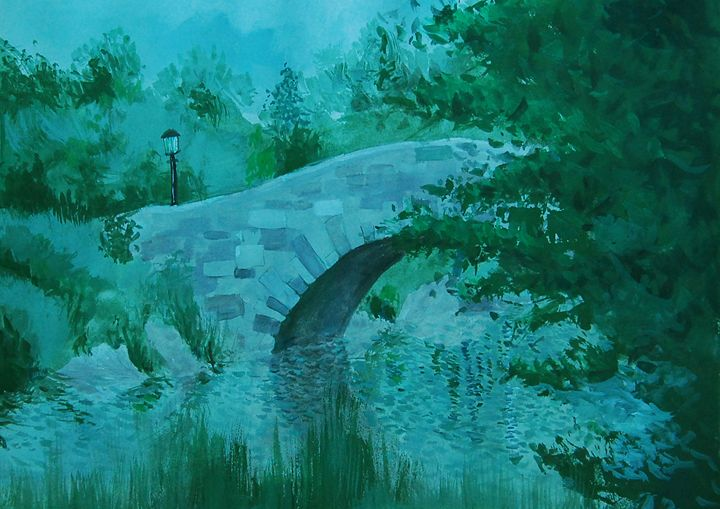 small bridge - artaer