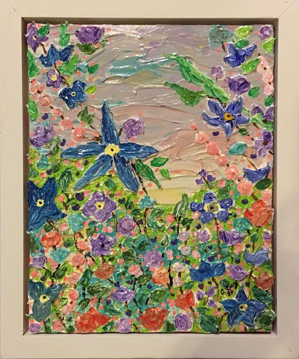 Monet Inspired - Christie Joy Art