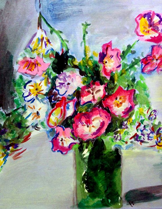 vase of a joy - Irum zaidi