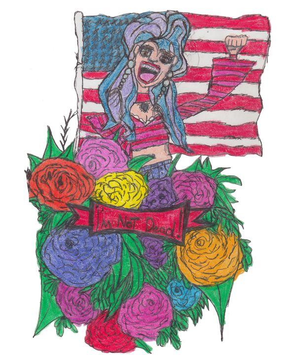Power Girl - Schizo Art