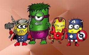 Minion Marvel Mashup