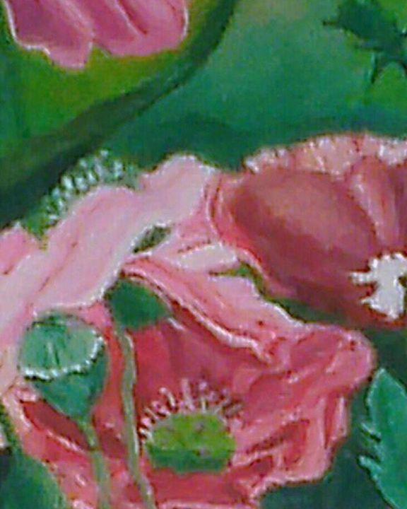 poppies - deborah saunders