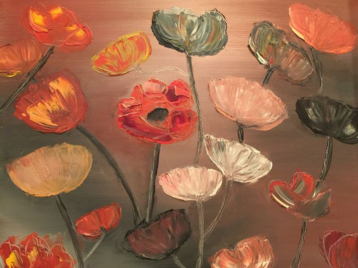 Poppy field - Felicia Markun