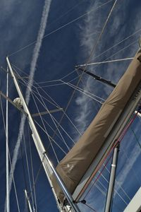 Tall Masts, Blue Sky