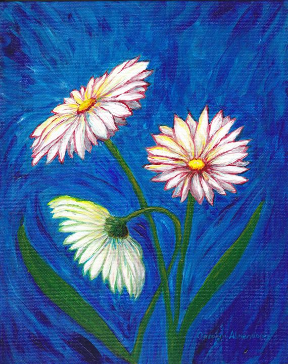 Daises - Carolyn Almendarez