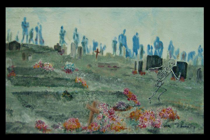 Sinister of the Graveyard Terror - Brian G Strange