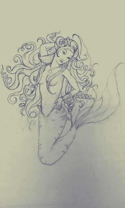 mermaid - Sketches