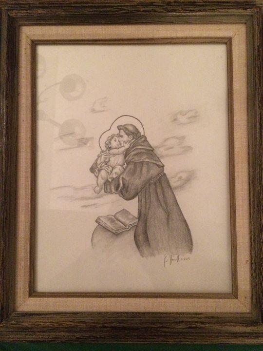 Saint Anthony - Kat's Art