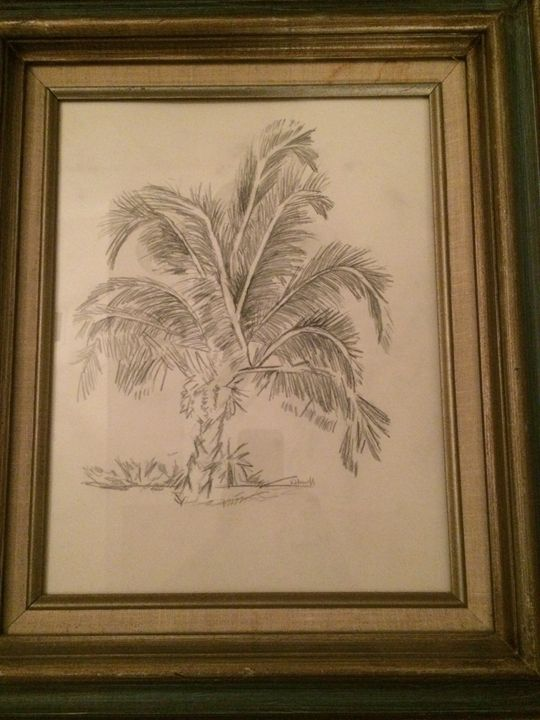 Palm Tree - Kat's Art