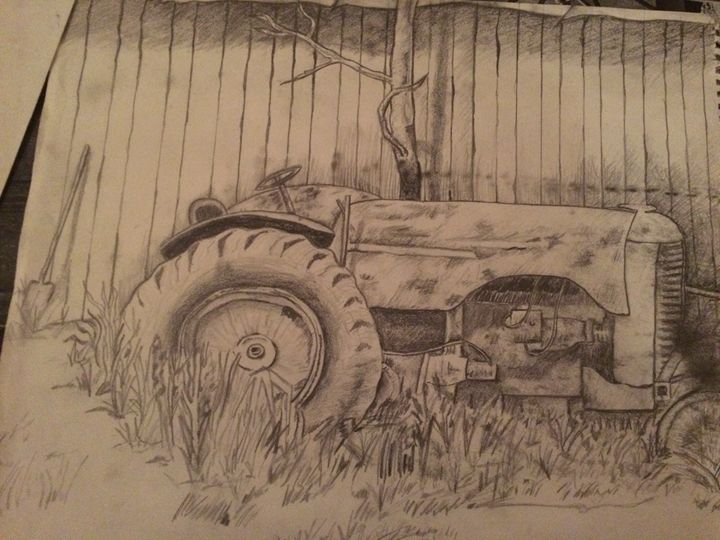Country Tractor - Kat's Art