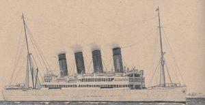 RMS Arundel Castle - 1921