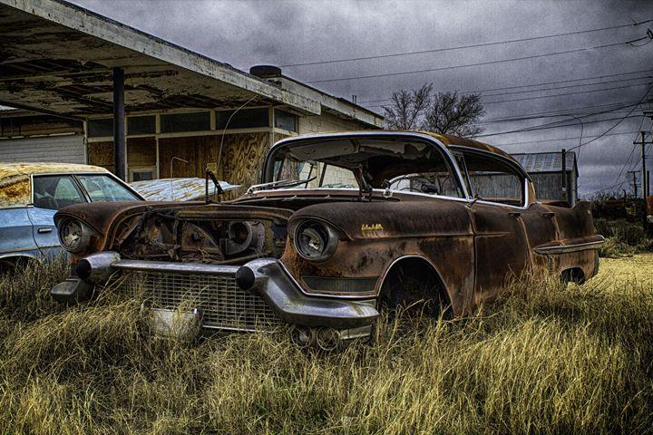 Pink Cadillac - Ron Pierce Photography