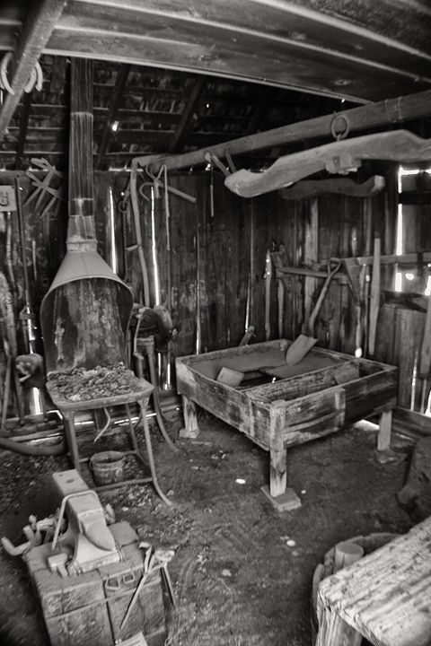 Blacksmith shop - Ron Pierce Photography