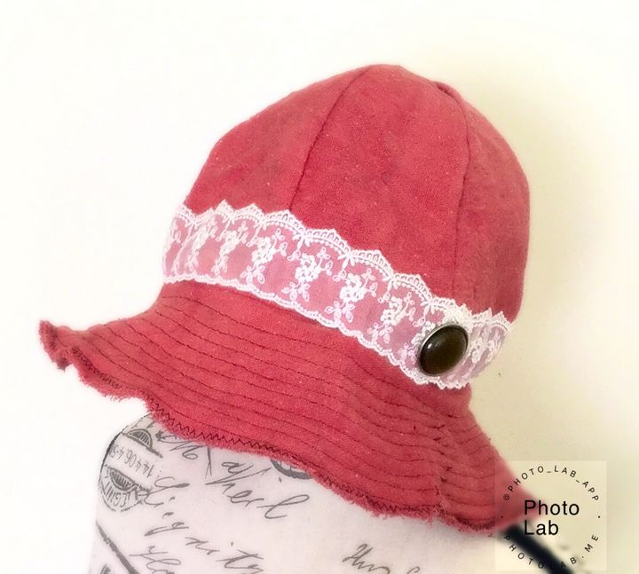 """Shabby """"Annie'"""" Cloche - Canvas & Lace"""