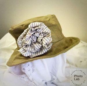 "Boho ""Harper"" Style Hat khaki"