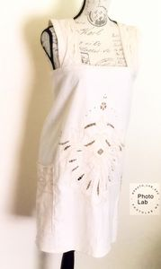 Romantic Lace Tunic Apron