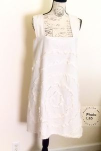 Shabby, Cross Back,Tunic Apron