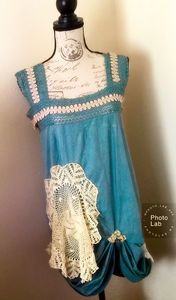 Romantic Shabby Tunic Dress
