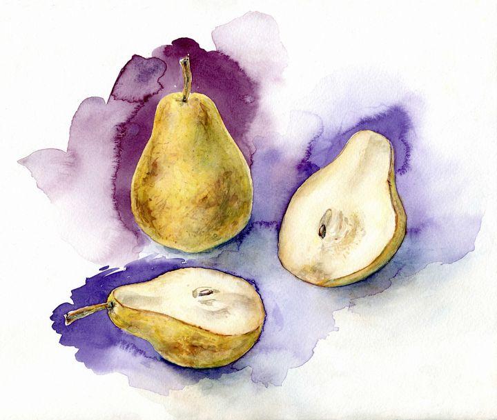 Pears - shura_hlebnikova_art