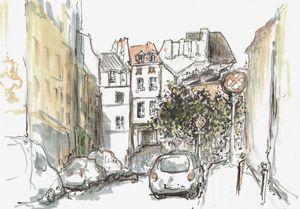 Old europe. Paris