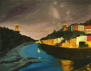 Bristol Clifton Suspension Bridge - Bristol Impressionist JZ