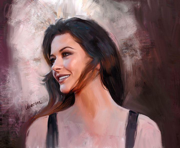 Portrait of Catherine Zeta-Jones - Vera Obraztsova