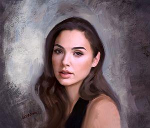 Portrait of Gal Gadot