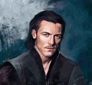 portrait of Luke Evans
