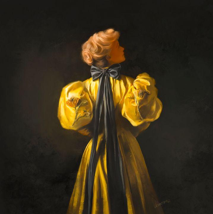 yellow dress - Vera Obraztsova