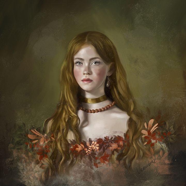 Wearing flowers - Vera Obraztsova