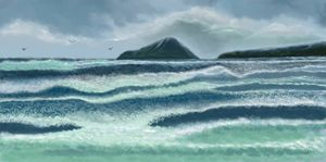 The Rushing Waves