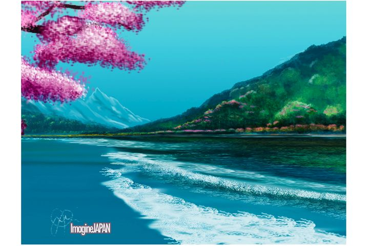 Imagine Japan - J.B. ASPERIN ART
