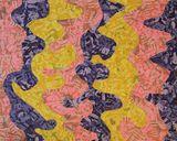 Original Paper Collage Painting