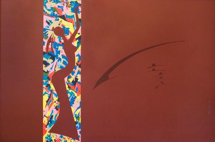 Costana in my holotropic mind - Holotropic Art by Edi APOSTU