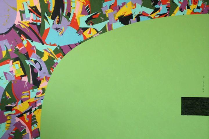 Micro chip - Holotropic Art by Edi APOSTU