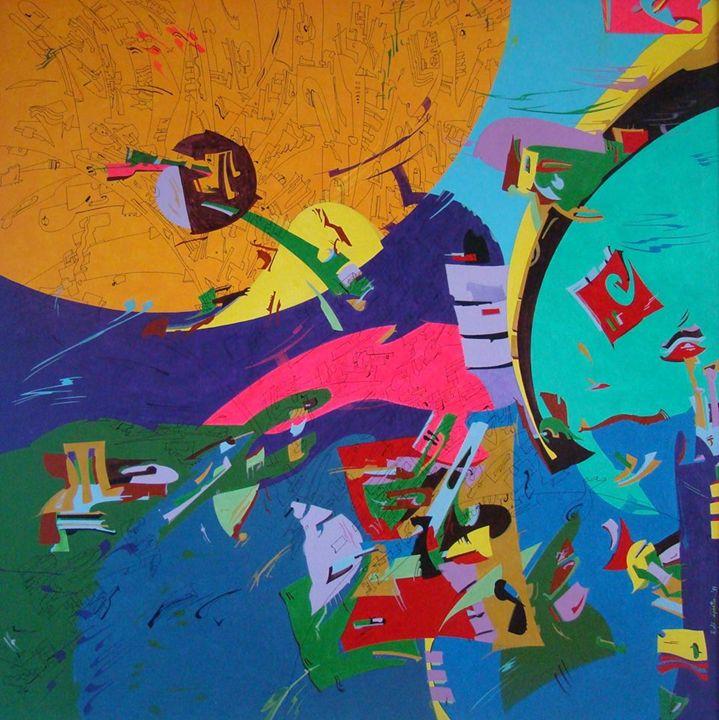 Stratosphere - Holotropic Art by Edi APOSTU