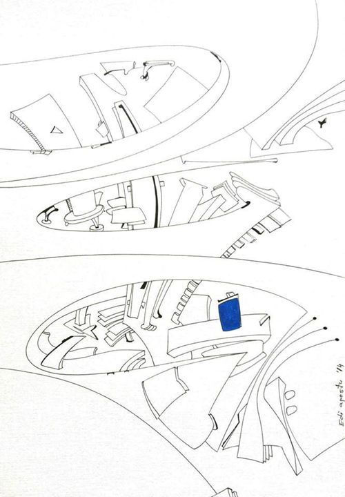 Antennas. Wind Spout - Holotropic Art by Edi APOSTU