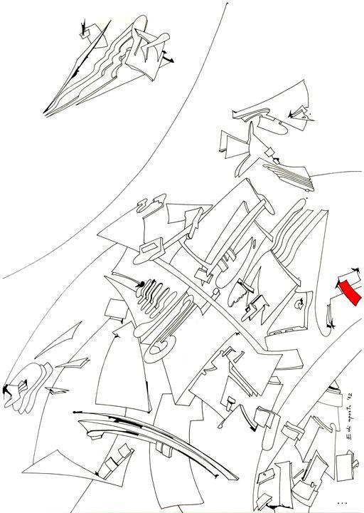 Stealth - Holotropic Art by Edi APOSTU