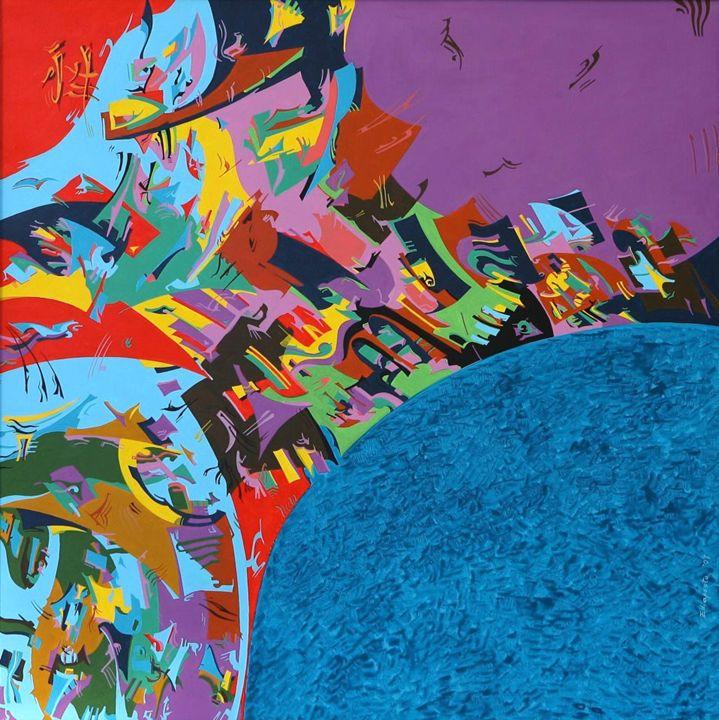 Chinesse paradigm - Holotropic Art by Edi APOSTU
