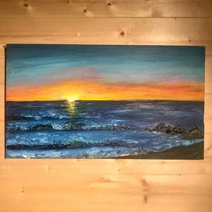 Deep Hue Sunset