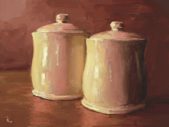 Study Of Objects - Phil Baril's Art